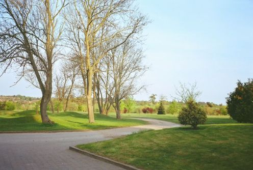 Dunston Hall Golf Club - In Front of Club House