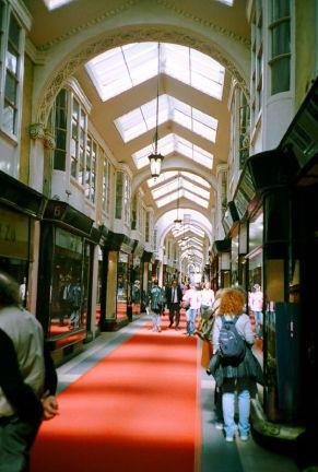 London Shopping Street