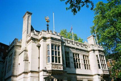 Temple, Thame Bank, London
