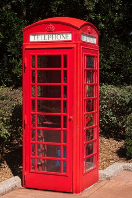 Classic Red Phone Booth